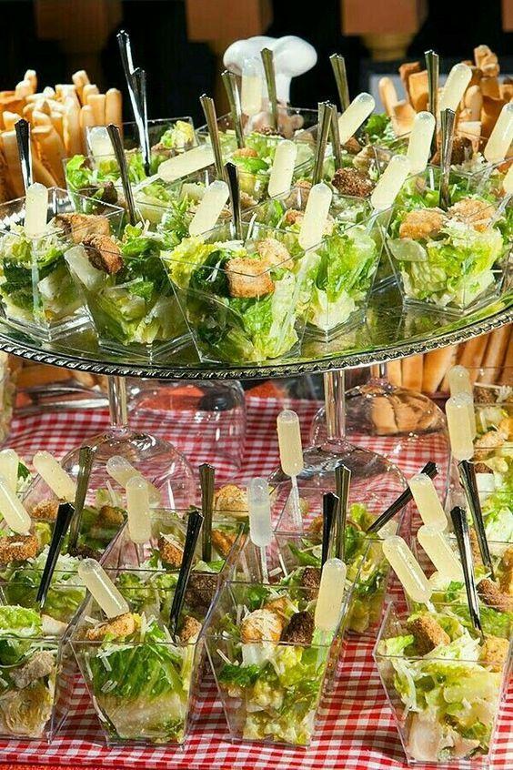 salad shot appetizers