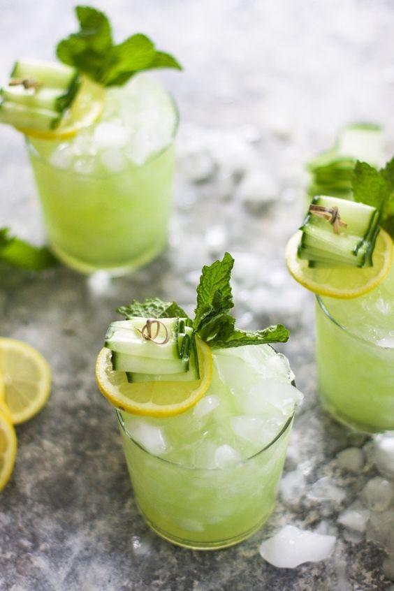 cucumber signature cocktail
