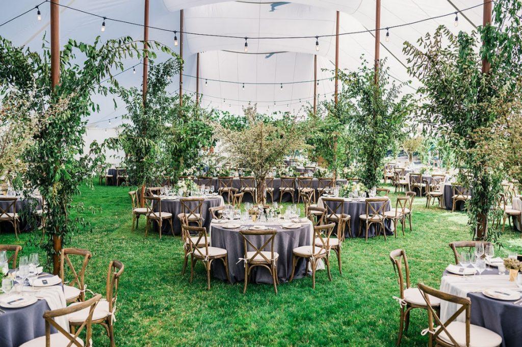 organic green wedding