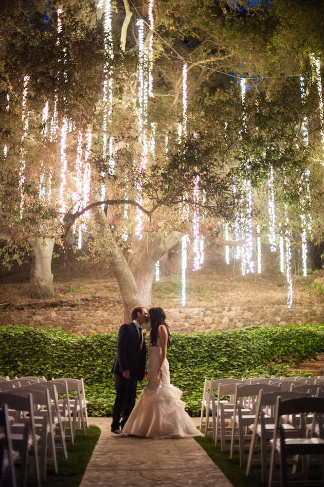 unique wedding lighting ceremony