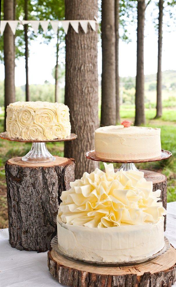 single tier dessert cakes for weddings