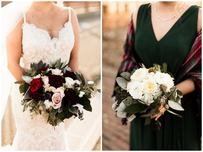 cranberry and sage wedding