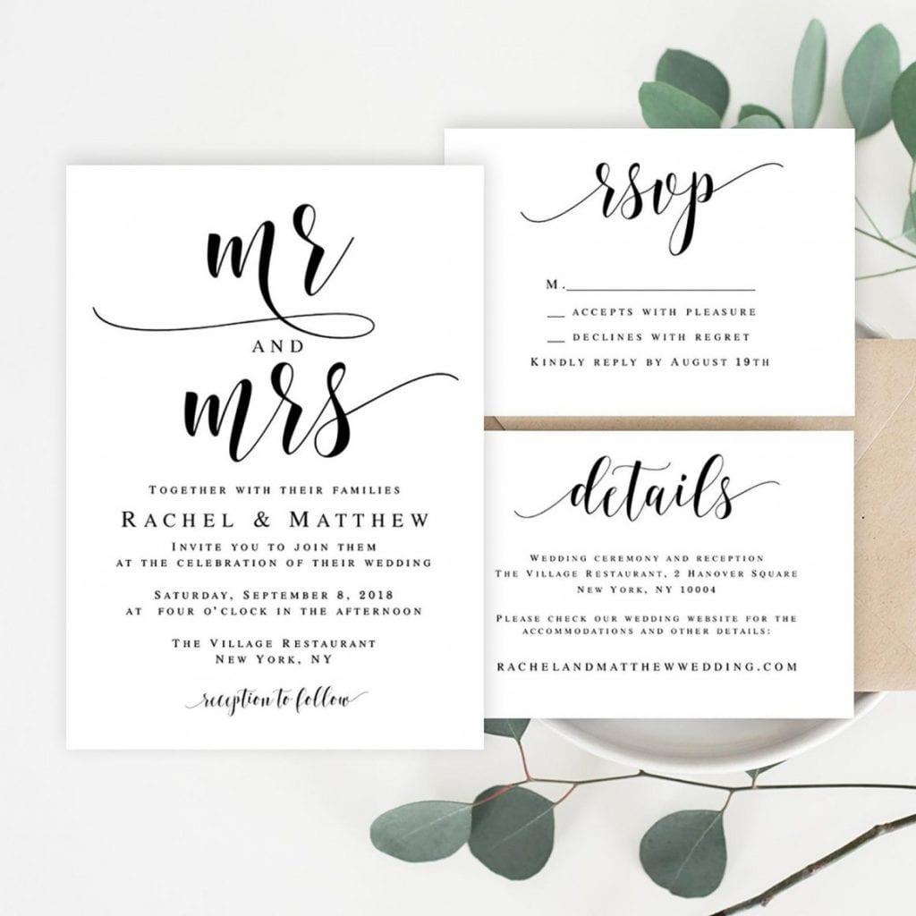 Mr. & Mrs. from Viola Mirabilis Design