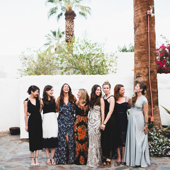 Wedding Guests Wearing Black