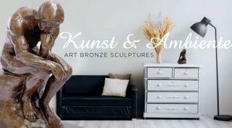 Kunst & Ambiente Art Bronze Sculptures: A Wedding Gift That Wows!
