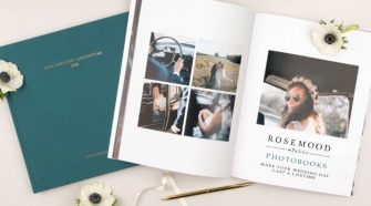 Rosemood Photo Book Custom Designed Set