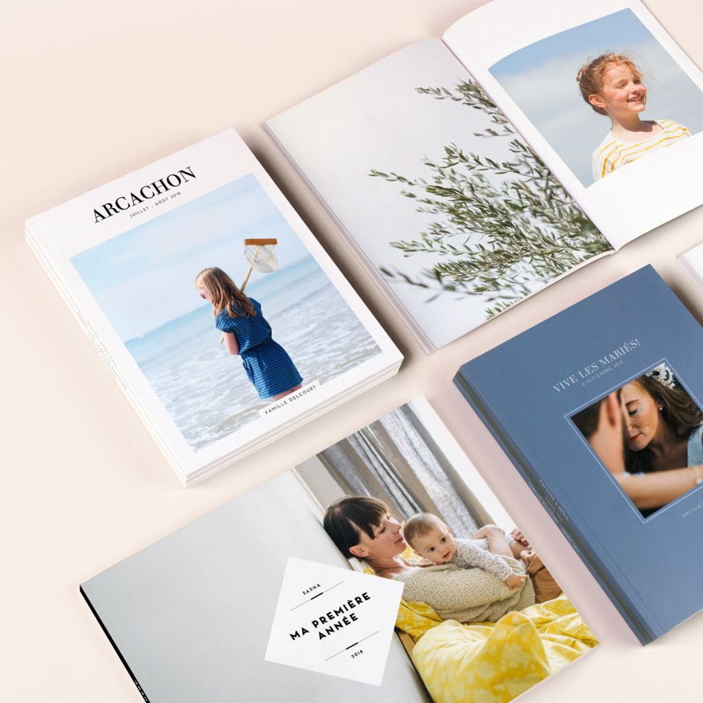 Rosemood Photo Book Design Options