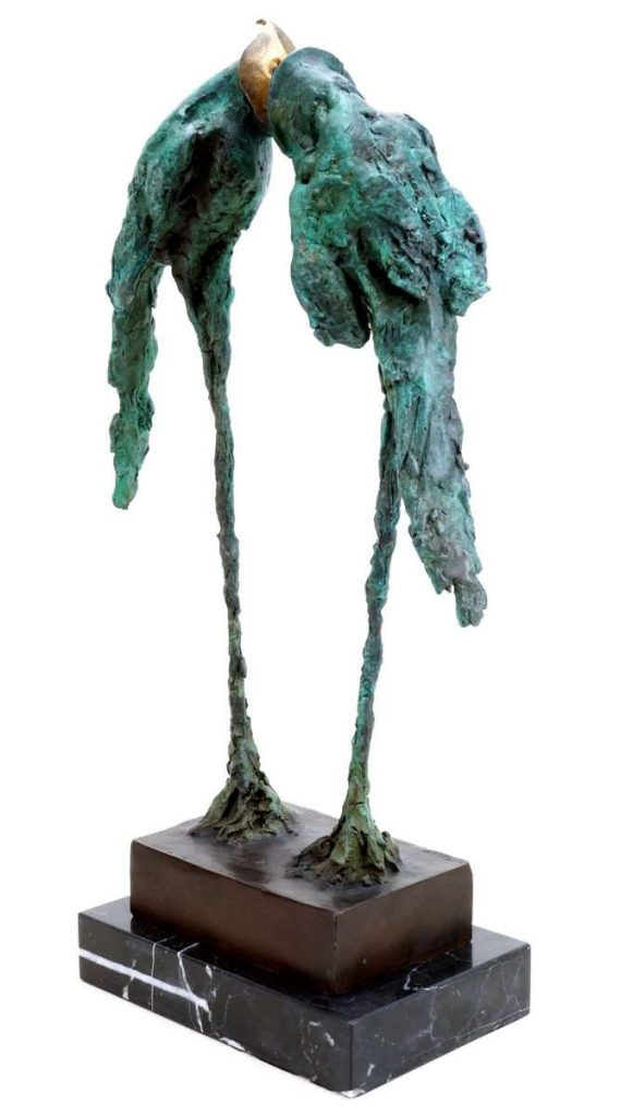 Kunst & Ambiente Art Bronze Sculpture - Abstract Birds