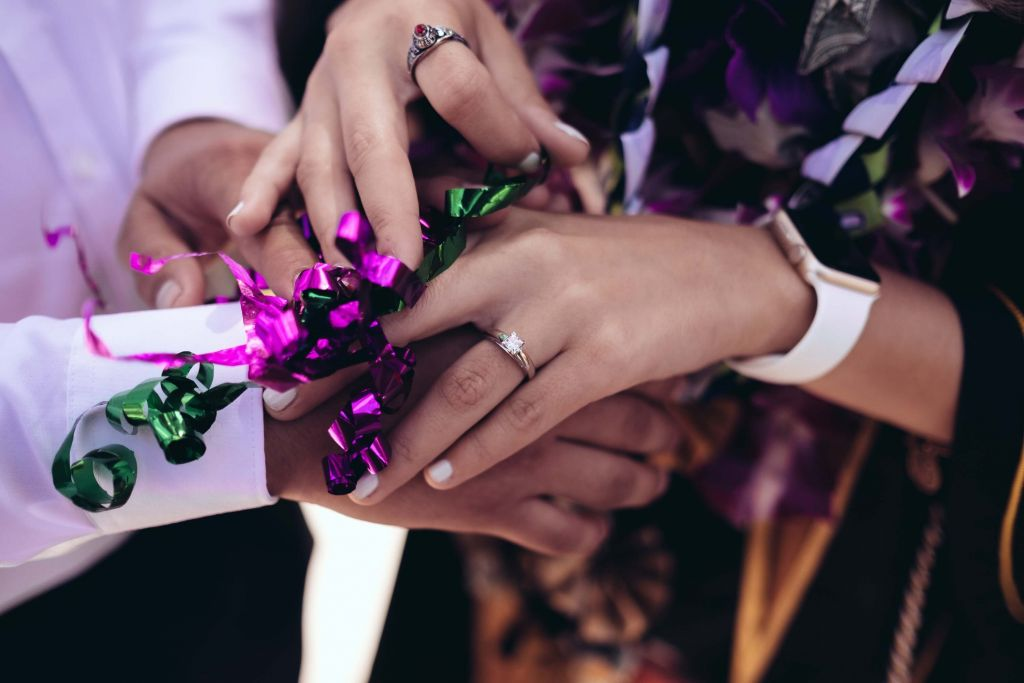 Planning an engagement party with the help of your friends