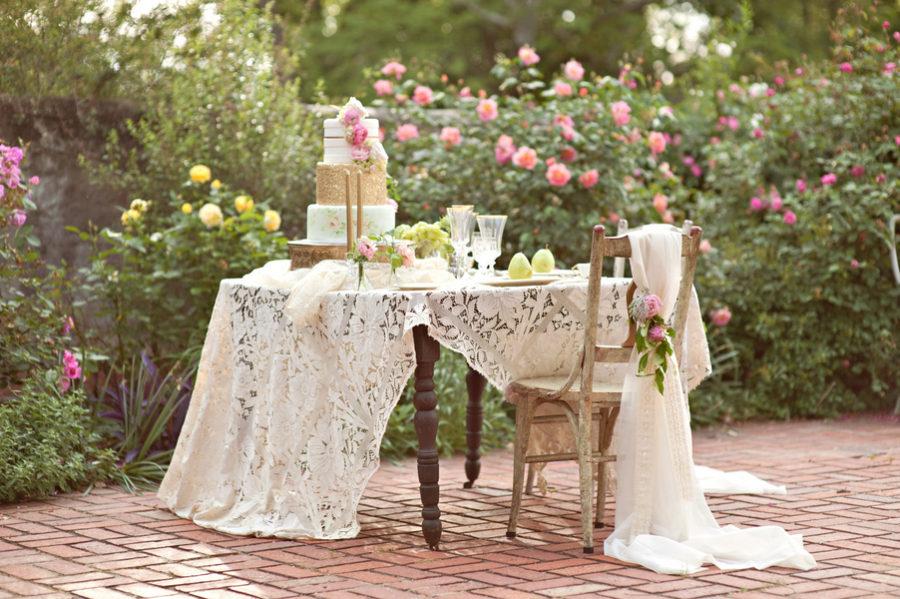 shabby chic wedding trend