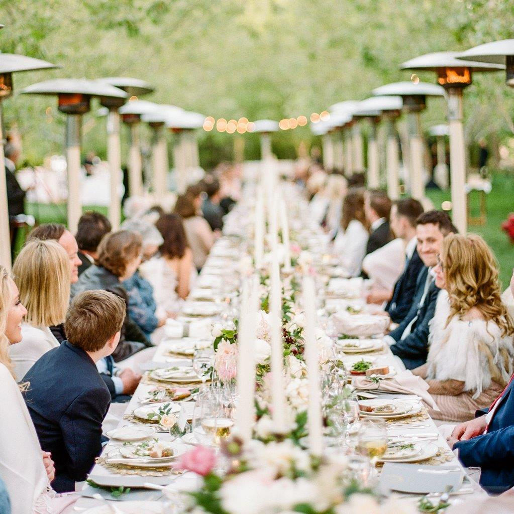 family style meals weddings