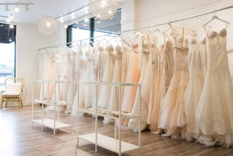boutique wedding gowns