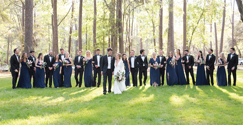 extra large bridal party