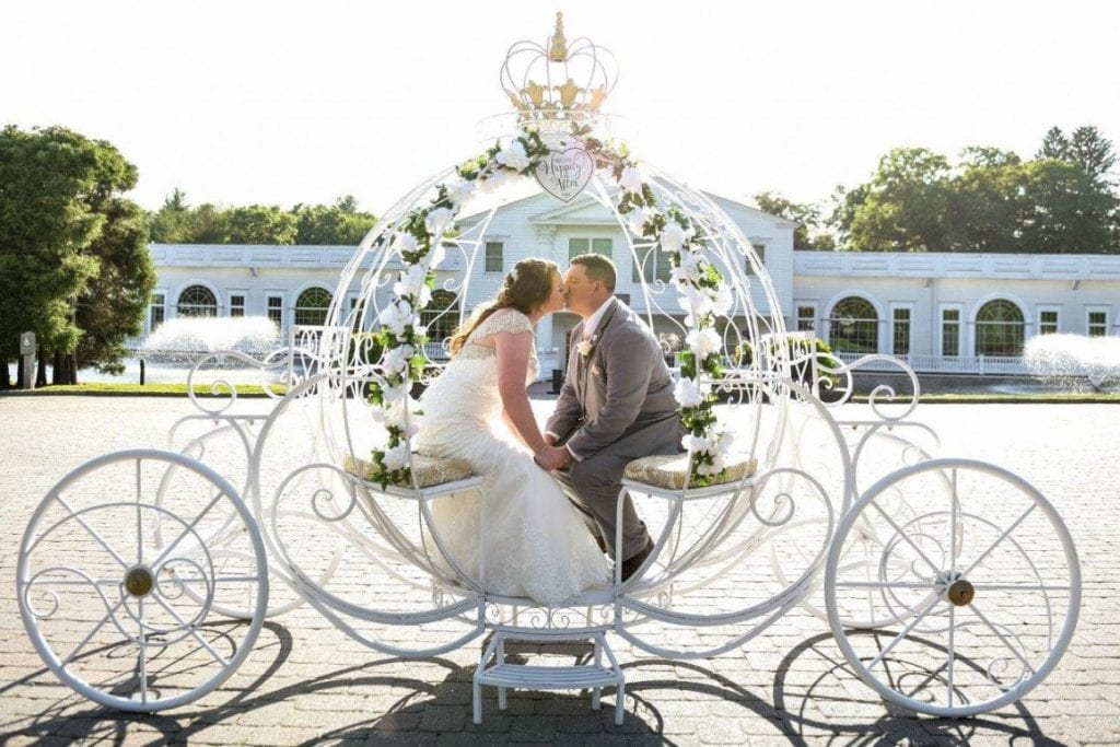 princess carriages for weddings