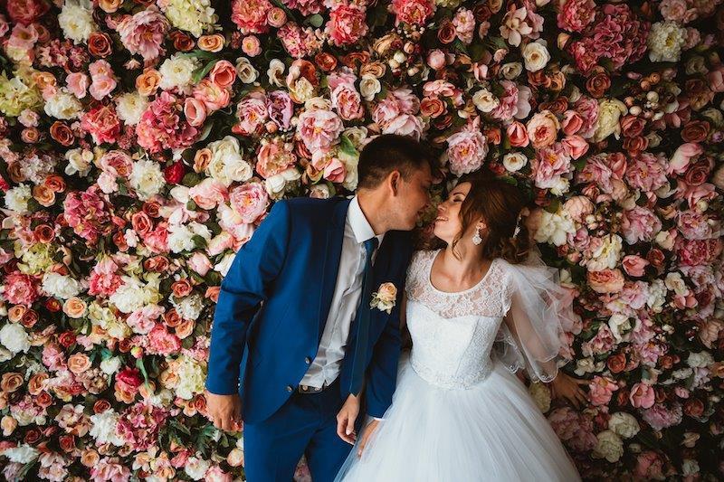 flower walls for weddings