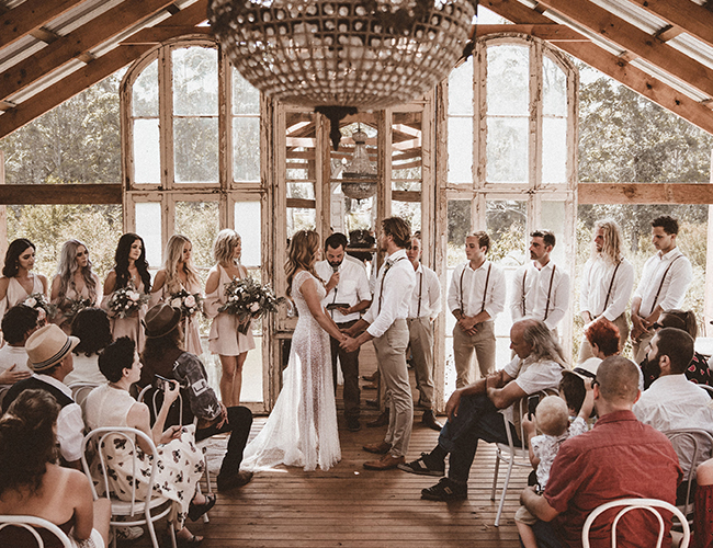 neutral only wedding