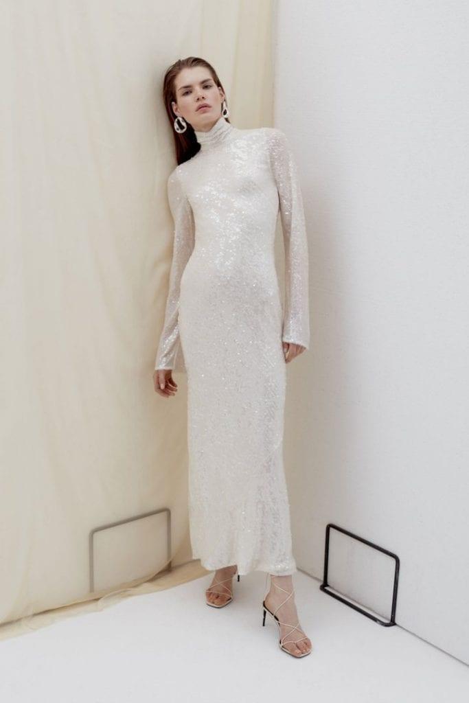 Blenheim Galvan wedding gown