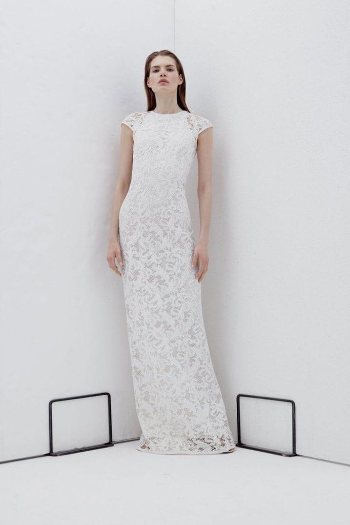 Clarendon galvan gown