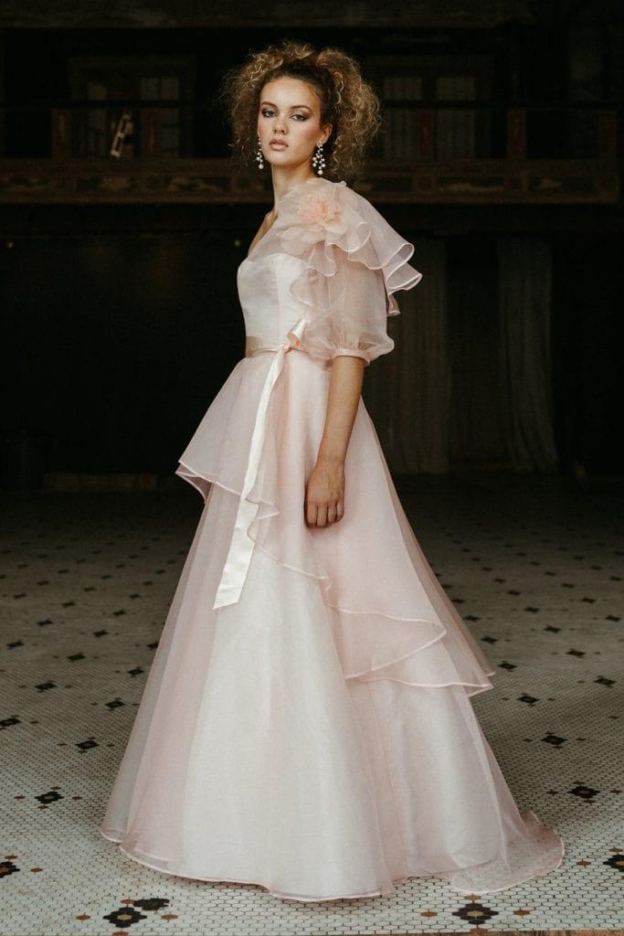 cloudia Elizabeth dye gown