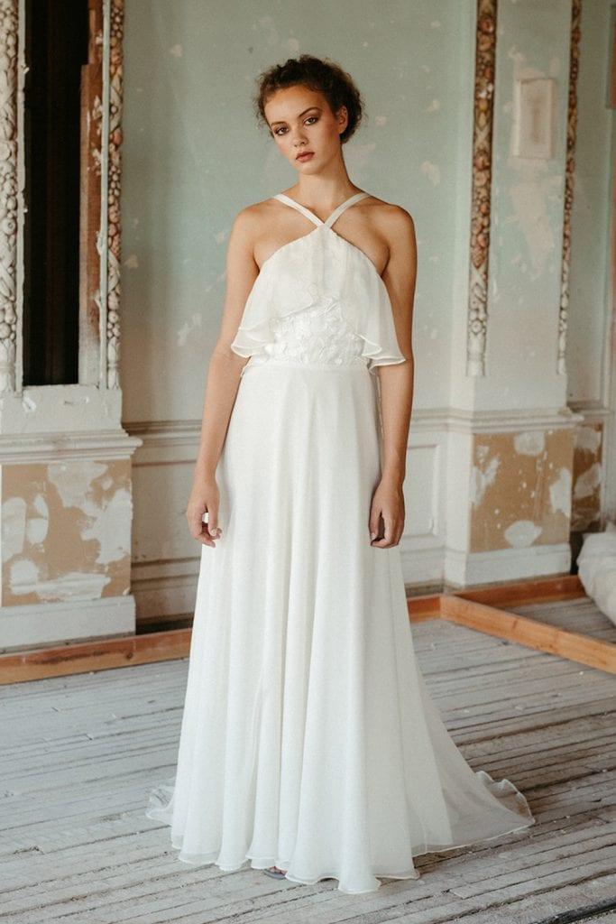 fawn Elizabeth dye gown