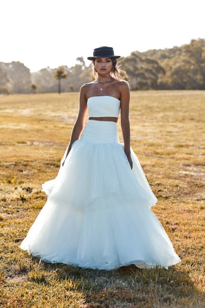Murphy One Day Bridal skirt