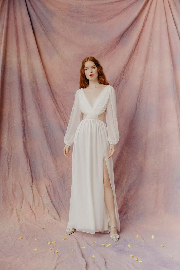 Rose L WELLS gown
