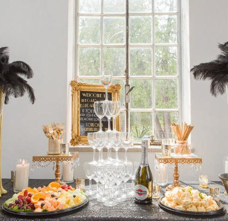 the great Gatsby bridal shower