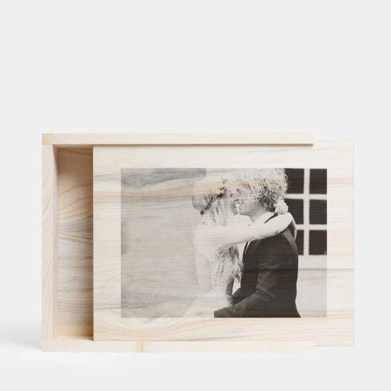 Artifact Uprising Personalized Wooden Photo Box