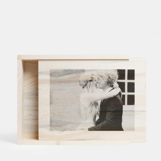 Artifact Uprising Personalized Wooden Photo Box