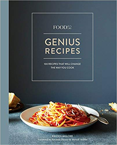 Genius Recipes Cookbook