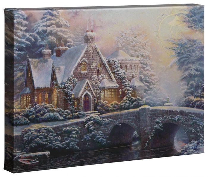 Thomas Kinkade Canvas Piece