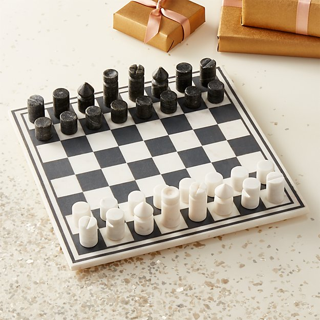 Marble Chess Game from CB2