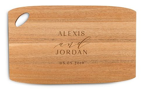 Personalized Cutting & Serving Board