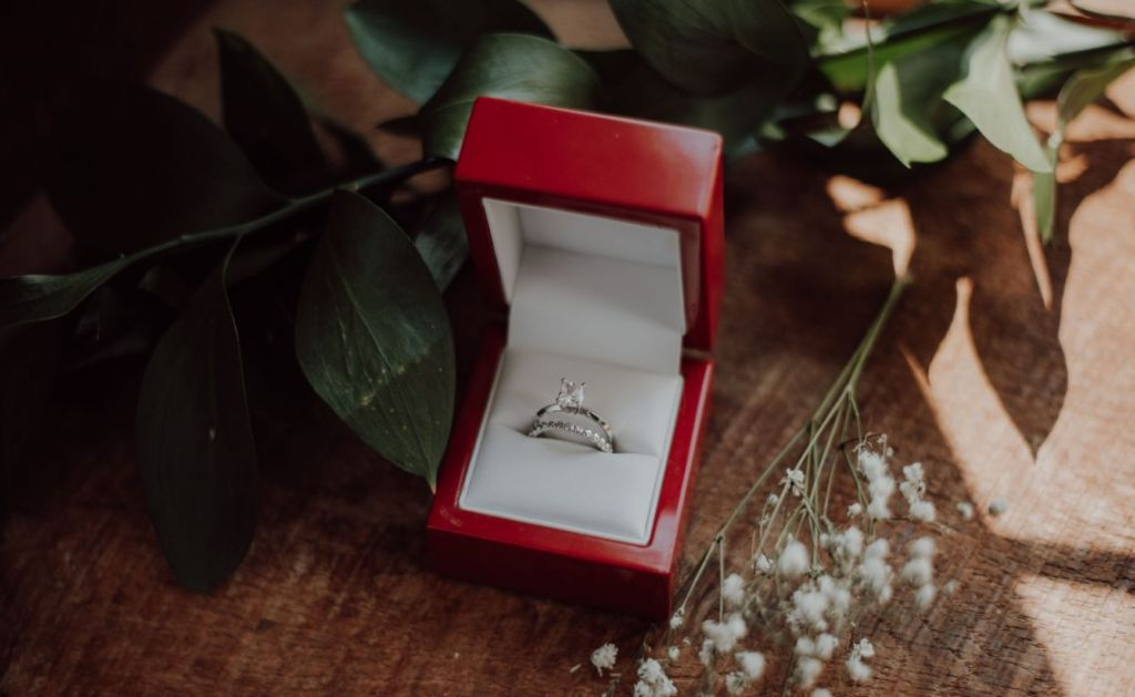 Propose with a matching ring set